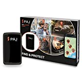 Paj GPS All-Round Finder GPS Tracker 20 Day Battery Finder Live Tracking Transmitter for Objects, Cars, People, Animals with App