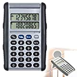 Calculator with Euro Converter Double Display (8 Digits, Battery, Conversion Function, Desk Calculator)