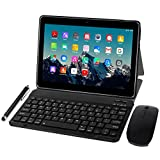 Tablet 10 Inch 4G LTE - TOSCIDO M863 Tablets Android 10.0, Tablet PC 4 GB/RAM, 64 GB/ROM, Otca Core, Dual SIM, WiFi, Support Bluetooth Keyboard, Mouse, M863 Tablet Cover and More Included
